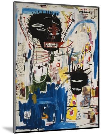 ISBN-Jean-Michel Basquiat-Mounted Premium Giclee Print