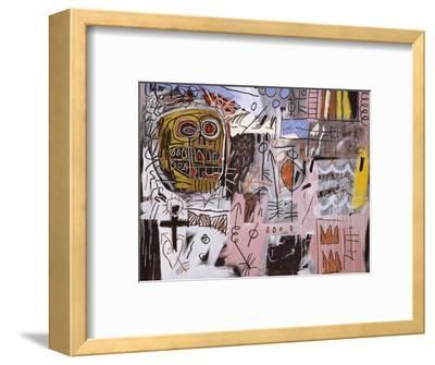 Untitled-Jean-Michel Basquiat-Framed Premium Giclee Print