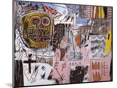Untitled-Jean-Michel Basquiat-Mounted Premium Giclee Print