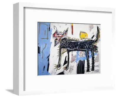 Part Wolf-Jean-Michel Basquiat-Framed Premium Giclee Print