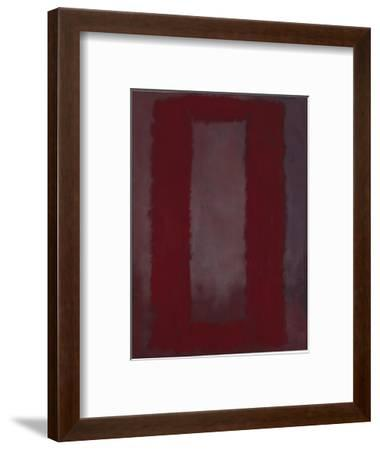 Mural, Section 4 {Red on maroon} [Seagram Mural]-Mark Rothko-Framed Premium Giclee Print