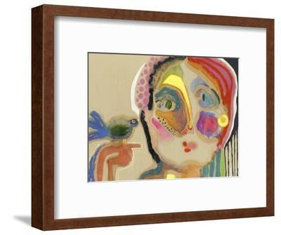 The Talker-Wyanne-Framed Premium Giclee Print