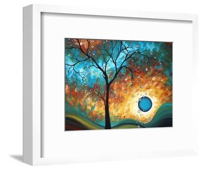 Aqua Burn-Megan Aroon Duncanson-Framed Premium Giclee Print