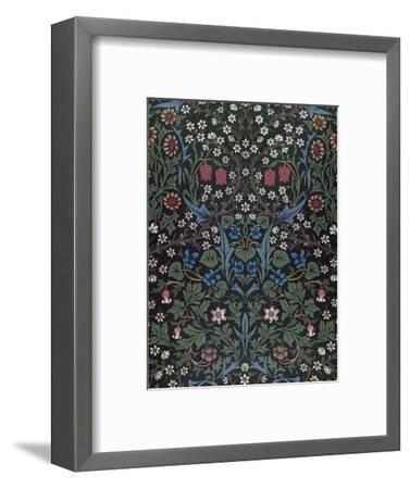 Blackthorn, Wallpaper Design, 1892-William Morris-Framed Premium Giclee Print