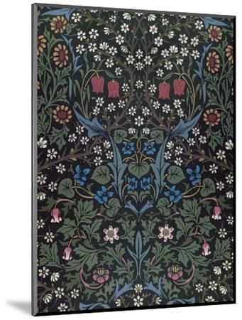 Blackthorn, Wallpaper Design, 1892-William Morris-Mounted Premium Giclee Print