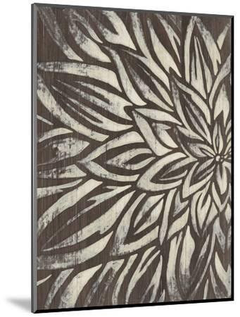 Barnwood Blossom I-June Vess-Mounted Premium Giclee Print