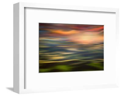 Rolling Hills at Sunset Copy-Ursula Abresch-Framed Photographic Print
