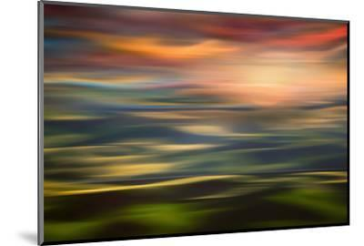 Rolling Hills at Sunset Copy-Ursula Abresch-Mounted Photographic Print