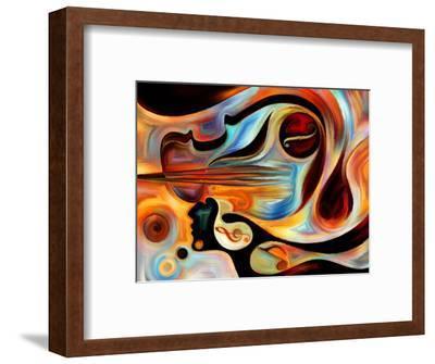 Elements of Music-agsandrew-Framed Premium Giclee Print