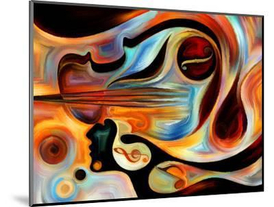 Elements of Music-agsandrew-Mounted Premium Giclee Print