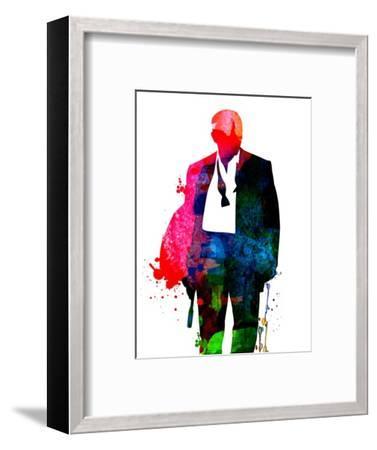 James Watercolor 1-Lora Feldman-Framed Premium Giclee Print