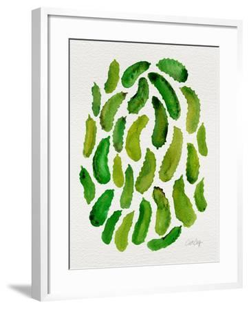 Pickles-Cat Coquillette-Framed Giclee Print