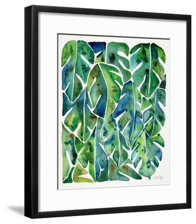 Green Philodendron-Cat Coquillette-Framed Giclee Print