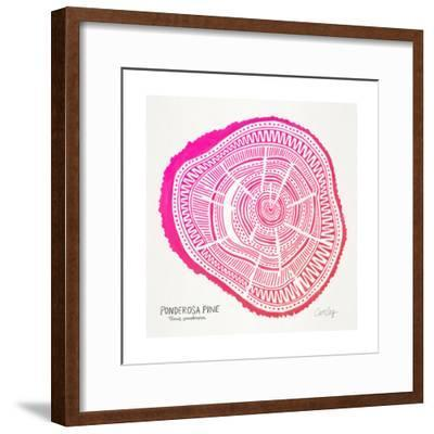 Pink Ponderosa-Cat Coquillette-Framed Giclee Print
