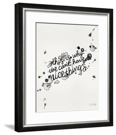 Nice Things-Cat Coquillette-Framed Giclee Print