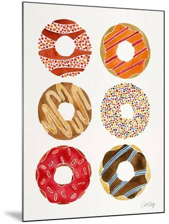 Multi Donuts-Cat Coquillette-Mounted Giclee Print