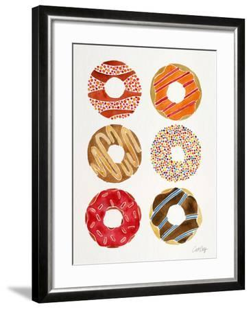 Multi Donuts-Cat Coquillette-Framed Giclee Print