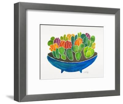 Succulents-Cat Coquillette-Framed Giclee Print