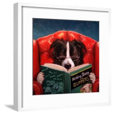 Herding Sheep-Lucia Heffernan-Framed Premium Giclee Print