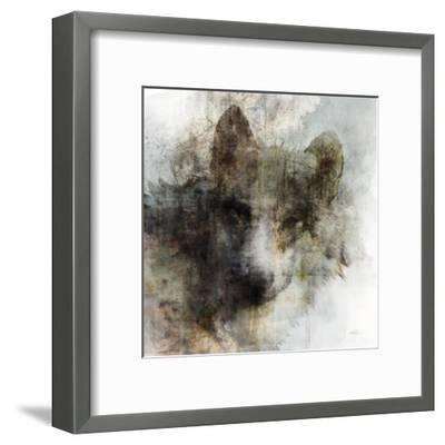 Wolf Call-Ken Roko-Framed Art Print