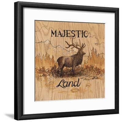 Majestic Land-Arnie Fisk-Framed Art Print