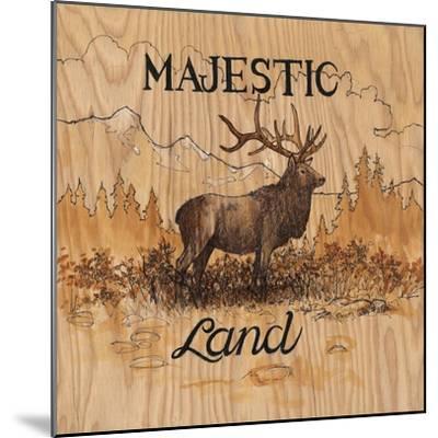 Majestic Land-Arnie Fisk-Mounted Art Print