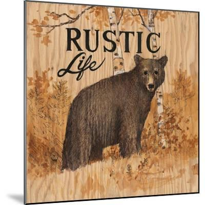 Rustic Life-Arnie Fisk-Mounted Art Print