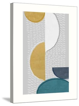 Modern Ellipse 1-Evangeline Taylor-Stretched Canvas Print