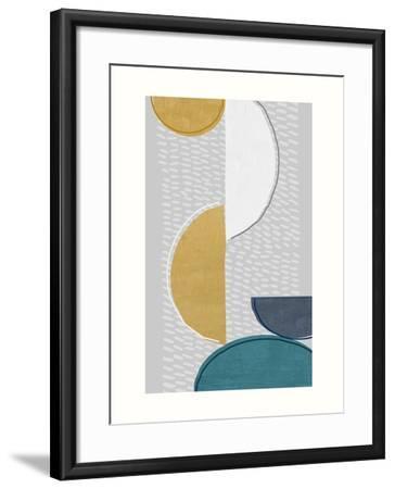 Modern Ellipse 1-Evangeline Taylor-Framed Art Print
