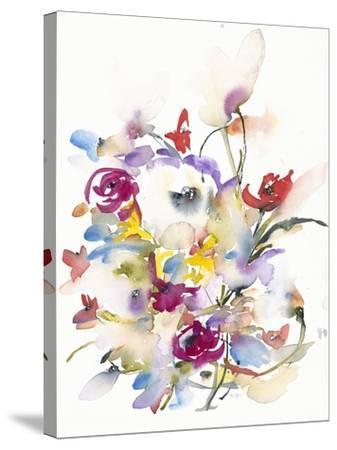 Cheerful Garden-Karin Johannesson-Stretched Canvas Print