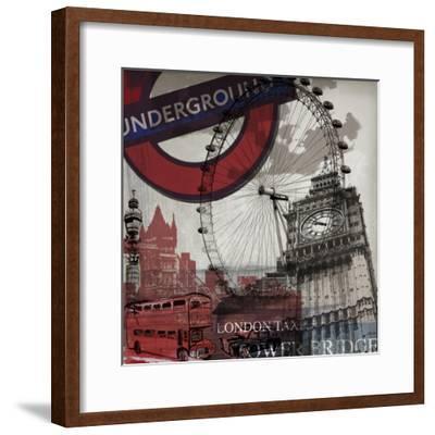 London Underground-Sidney Paul & Co.-Framed Art Print