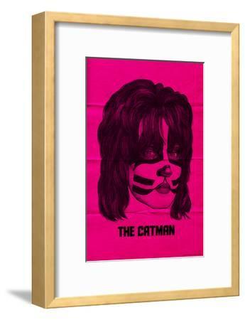 KISS - The Catman (Pink)--Framed Premium Giclee Print