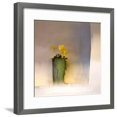 The First Primrose-Valda Bailey-Framed Photographic Print
