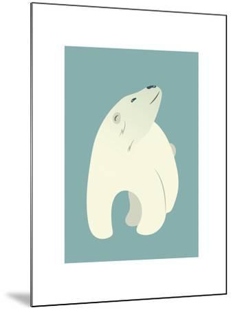 Polar Bear Print-Kindred Sol Collective-Mounted Art Print