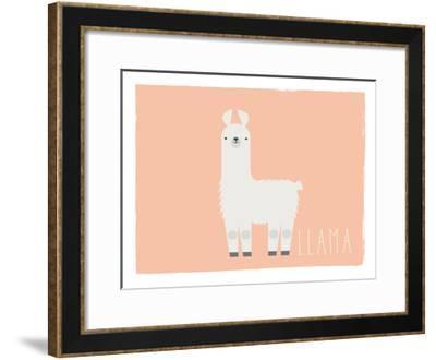 Llama-Kindred Sol Collective-Framed Art Print