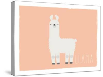 Llama-Kindred Sol Collective-Stretched Canvas Print