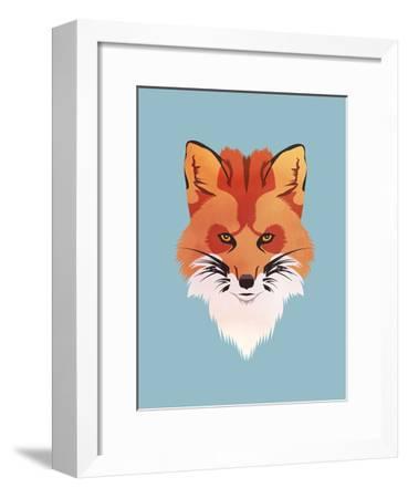 Red Fox-Meagan Jurvis-Framed Art Print