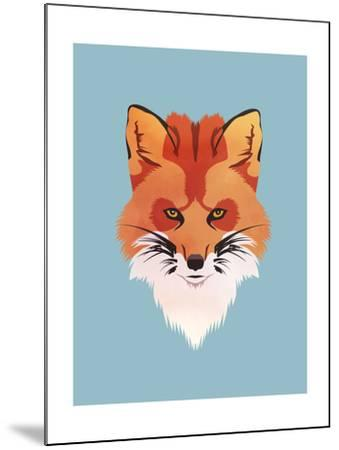 Red Fox-Meagan Jurvis-Mounted Art Print