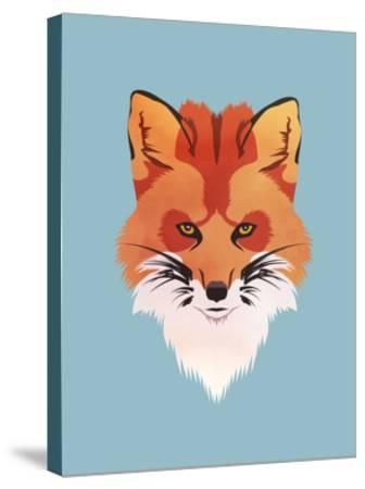 Red Fox-Meagan Jurvis-Stretched Canvas Print
