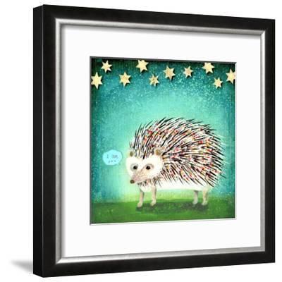 Porcupine for Thomas-Judy Verhoeven-Framed Art Print