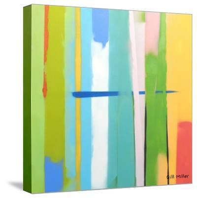 Urban Summer 2-Gil Miller-Stretched Canvas Print