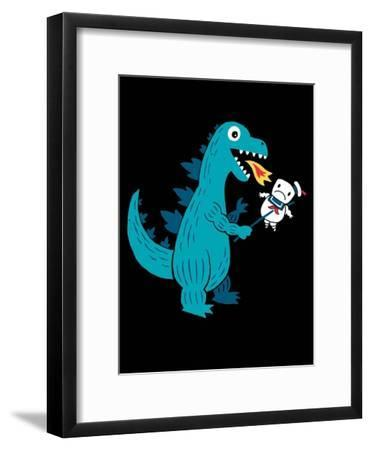 Everyone Loves Marshmallows-Michael Buxton-Framed Art Print
