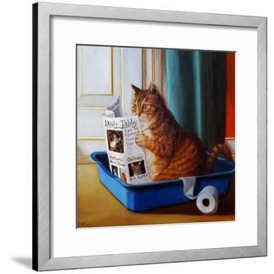 Kitty Throne-Lucia Heffernan-Framed Art Print