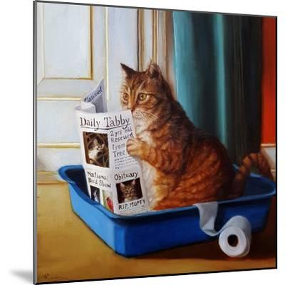 Kitty Throne-Lucia Heffernan-Mounted Art Print