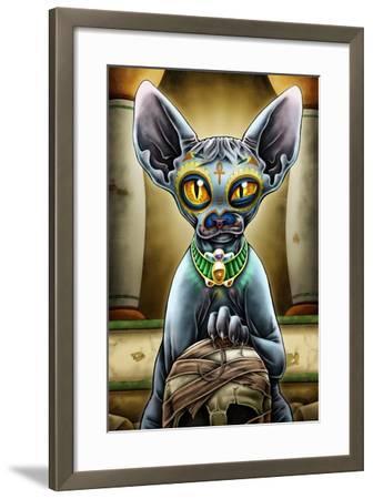 Babista-Nicholas Ivins-Framed Art Print