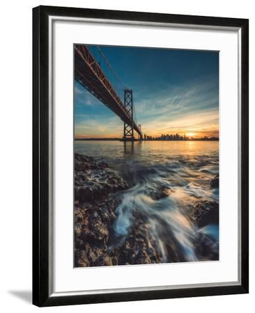 Down by the Water 2-Bruce Getty-Framed Photographic Print