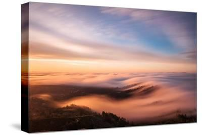 Golden Morning-Bruce Getty-Stretched Canvas Print