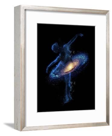 Cosmic Dance-Robert Farkas-Framed Art Print