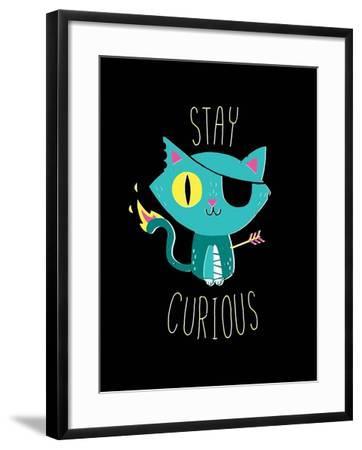 Stay Curious-Michael Buxton-Framed Art Print