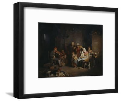 The Blind Fiddler-Sir David Wilkie-Framed Giclee Print